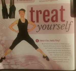 Highland Hustle features in Scottish Slimmers magazine